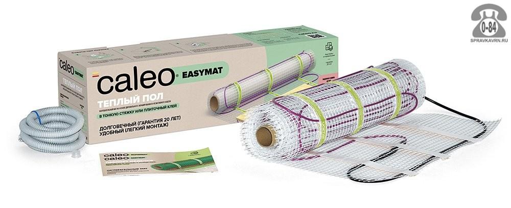 Тёплый пол Калео Глобал Калео (Caleo) Easymat электрический резистивный на сетке кабель в стяжку (плиточный клей) двухжильный 140 Вт 0.5 м Корея, республика (Южная Корея)
