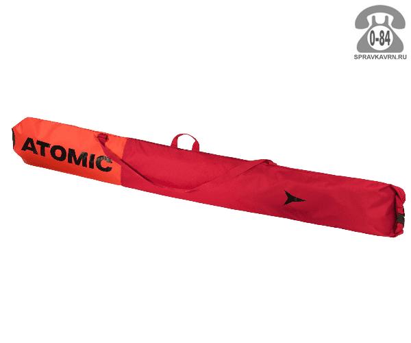 Чехол для лыж красный 200 см для беговых лыж