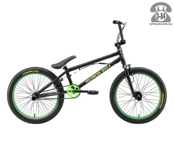 Велосипед Старк (Stark) Madness BMX 2 (2017), черный