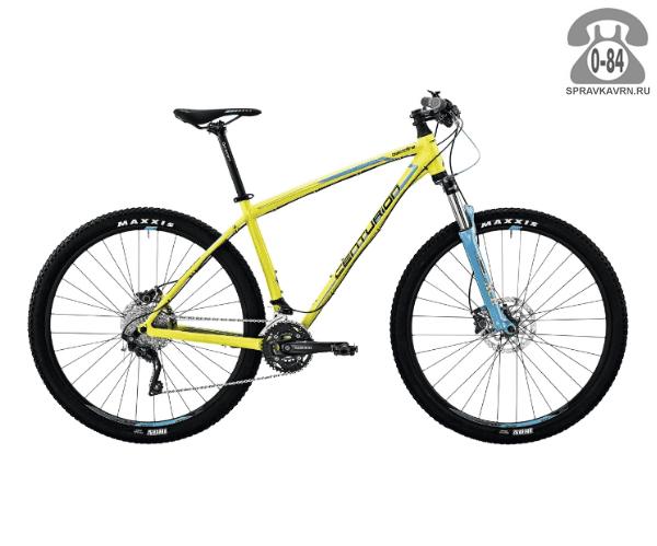 """Велосипед Центурион (Centurion) Backfire Pro 400.29 (2017) размер рамы 17.5"""" желтый"""