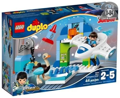 Конструктор Лего (Lego) Duplo 10826 Стеллосфера Майлза, количество элементов: 44