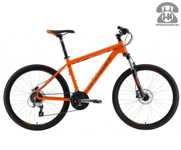 "Велосипед Сильвербэк (Silverback) STRIDE 15 (2016), рама 20.5"", оранжевый размер рамы 20.5"" оранжевый"