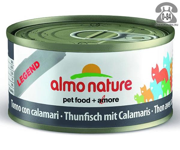Корм для животных Almo Nature Legend Adult Cat Tuna&Squids 24182