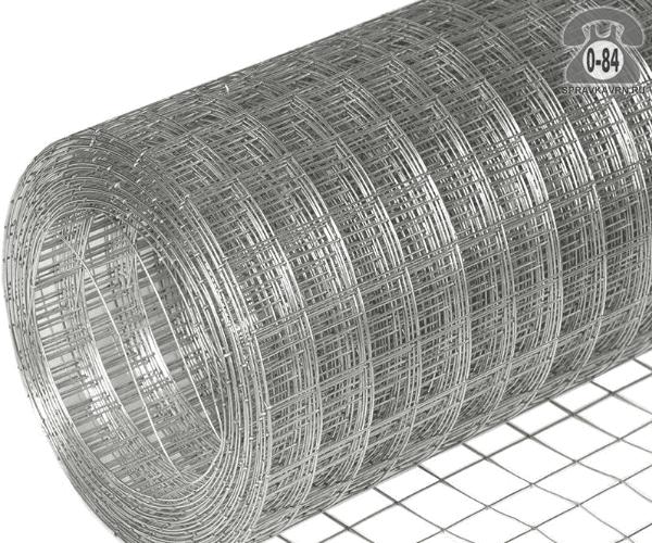 Строительная сетка диаметр 1.6мм  ячейка 50x50мм ширина 1.8м