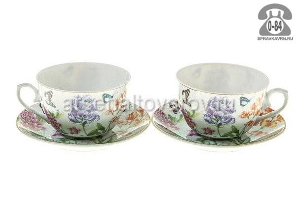 Чайный сервиз фарфор 2 Китай