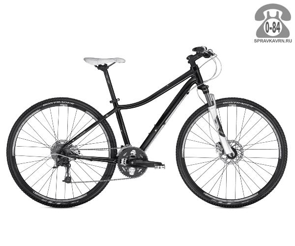 """Велосипед Трек (Trek) Neko (2016), рама 14.5"""" размер рамы 14.5"""" черный"""