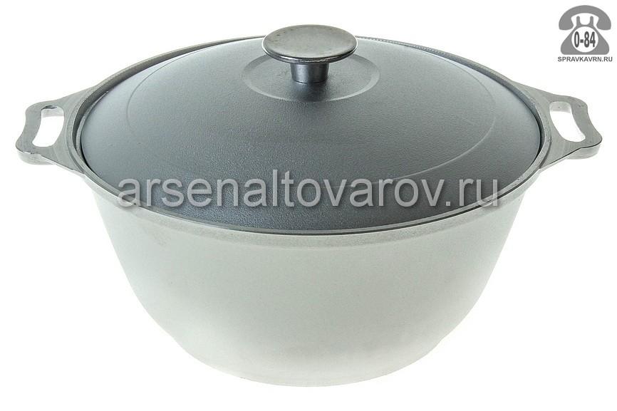 кастрюля алюминиевая 4,5 л (К0451) (Биол)