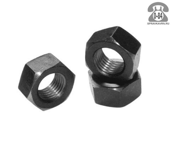 Гайка шестигранная высокопрочная сталь