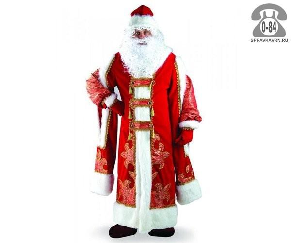 Костюм Дед Мороз Царский 54-56 187 Батик