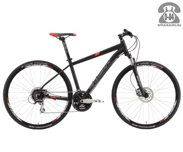 "Велосипед Сильвербэк (Silverback) STRIDE 20 (2016), рама 22.5"" размер рамы 22.5"" черный"