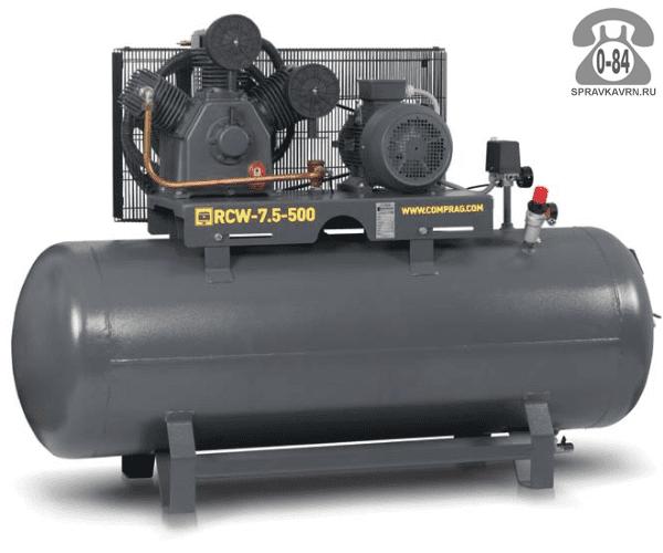 Компрессор Компраг (Comprag) RCW-7,5-500 8 кВт 10 бар 1200 л/мин 1953*650*1243