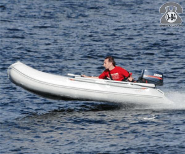 Лодка надувная Баджер (Badger) Fishing Line 300 W