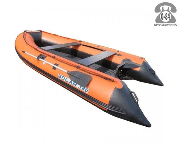 Лодка надувная Солар (Solar) Солар-380 JET