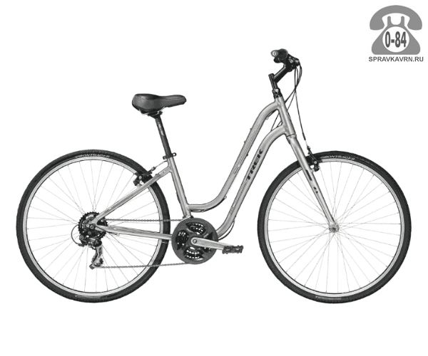 Велосипед Трек (Trek) Verve 1 WSD (2016), серый