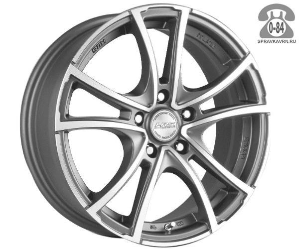 """Диск РВ (Racing Wheels) H-337 16"""" ширина 7"""" крепежных отверстий 5 диаметр расположения отверстий 112 мм вылет колеса (ET) 40 мм диаметр центрального отверстия 73.1 мм"""