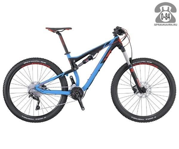 Велосипед Скотт (Scott) Genius 750 (2016)