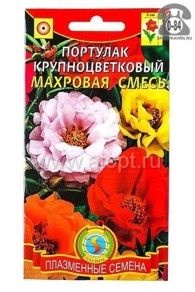 Семена цветов Агроуспех кубанские семена портулак Махровая смесь однолетник 0,1 г Россия
