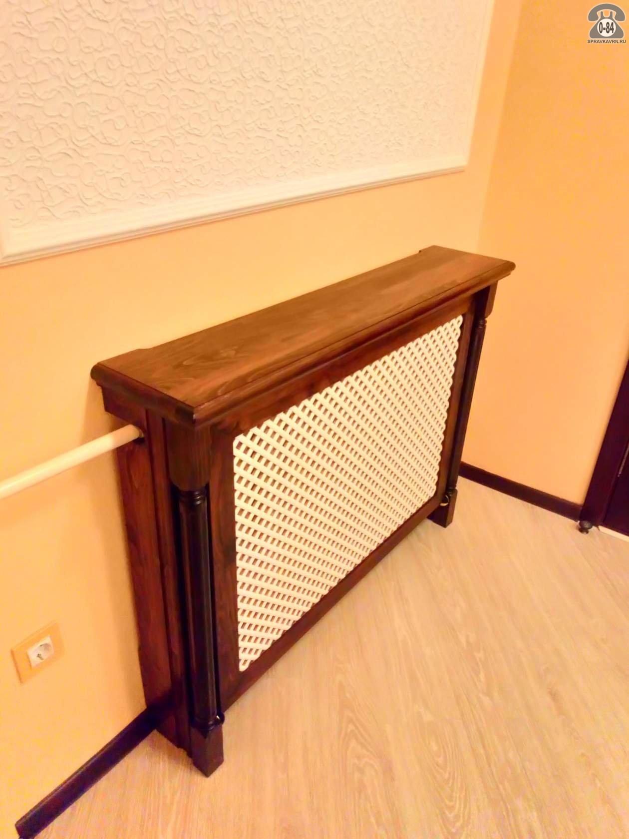 Экран для радиатора отопления шпон дуба