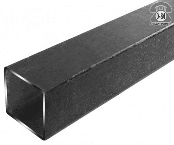 Профильные стальные трубы 40*40 2 мм 3 м