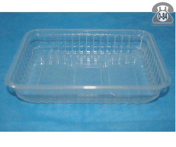Контейнер пищевой Алькор Центр пластмассовый (пластиковый, полипропиленовый) 0.5 л прямоугольная для СВЧ-печи с крышкой г. Москва