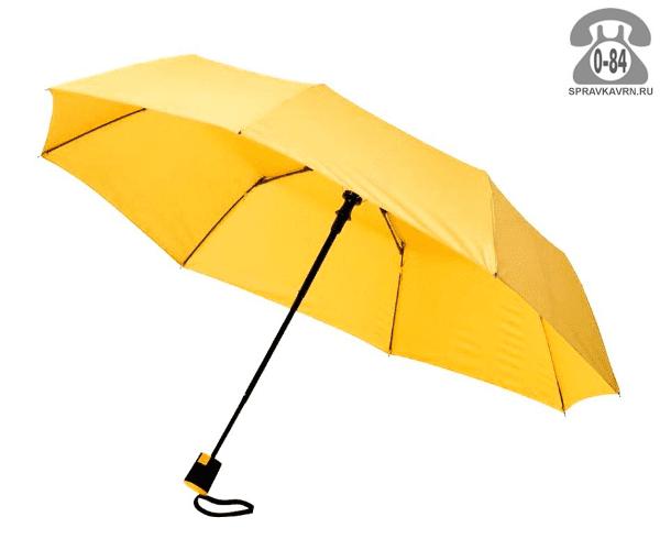 Зонт складной полуавтоматический женский Китай
