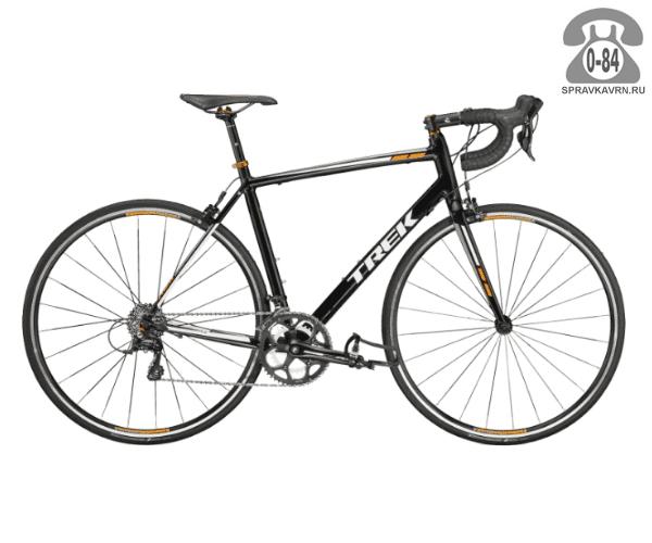 """Велосипед Трек (Trek) 1.2 (2016), рама 21.5"""" размер рамы 21.5"""" черный"""