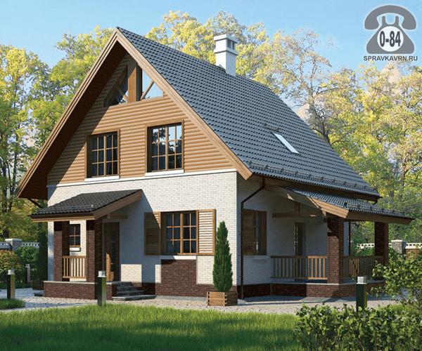 Дом капитальный одноквартирный (индивидуальный, коттедж) строительство
