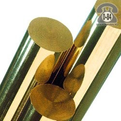 Круг металлический латунный ЛС59-1