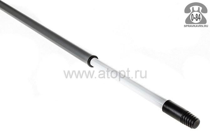 Черенок пластмасса 1500 мм для щётки телескопический Россия