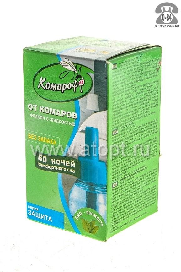 Комплект: фумигатор + жидкость Комарофф 60 ночь