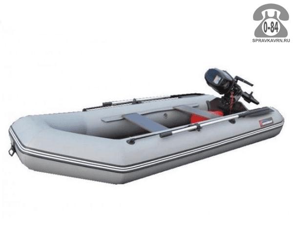 Лодка надувная Hunterboat Хантер 320 Л, серый 320031
