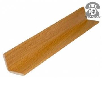 Уголок деревянный универсальный липа 25 мм 25 мм