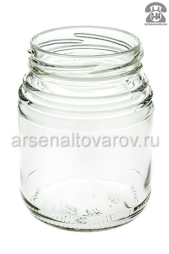 Банка стеклянная Твист-66 0.35 л
