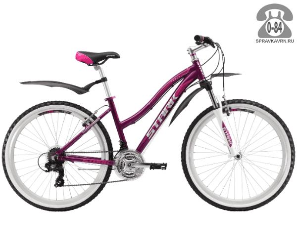 """Велосипед Старк (Stark) Luna 26.2 V (2017), рама 15"""" размер рамы 15"""" красный"""