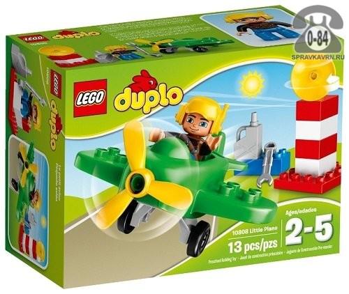 Конструктор Лего (Lego) Duplo 10808 Маленький самолёт, количество элементов: 13