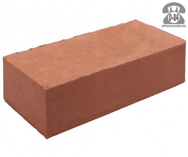 Кирпич рядовой керамический Керамик М125 одинарный 1НФ 250 мм 120 мм 65 мм гладкая полнотелый красный F25 на поддонах г. Борисоглебск