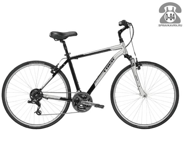 """Велосипед Трек (Trek) Verve 2 (2016), рама 20.5"""", серый размер рамы 20.5"""" серый"""