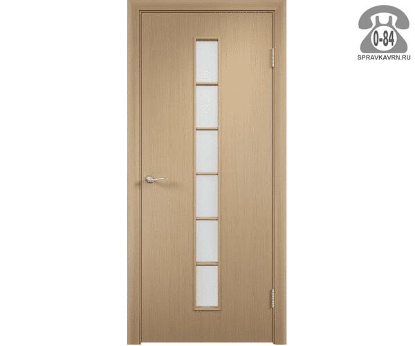 Дверь межкомнатная деревянная распашная МДФ