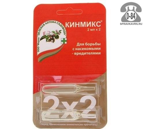 Зеленая аптека садовода Кинмикс от колорадского жука и комплекса вредителей 4 мл