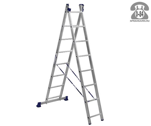 Лестница складная H2 5208 8