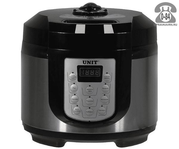 Мультиварка Юнит (Unit) USP-1020D, Китай