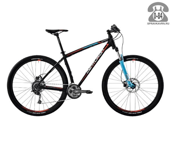 """Велосипед Центурион (Centurion) Backfire Pro 100.27 (2017) размер рамы 17.5"""" черный"""