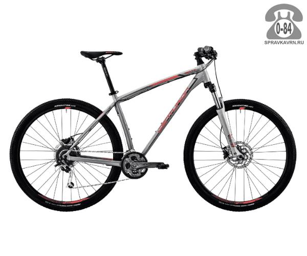 "Велосипед Центурион (Centurion) Backfire Pro 200.27 (2017) размер рамы 15.5"" серый"