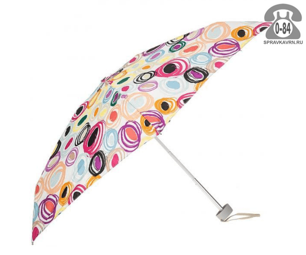 Зонт складной механический мультиколор женский Китай