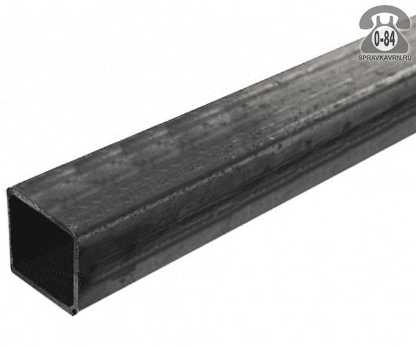 Профильные стальные трубы 25*25 2 мм 6 м