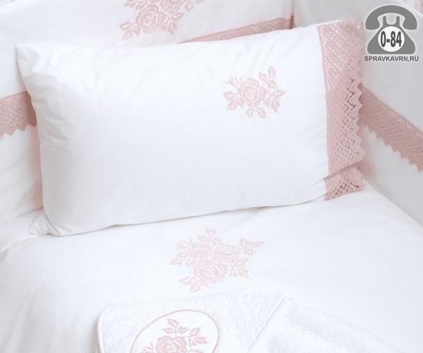 Детское постельное белье Бови (Bovi) Роза перкаль