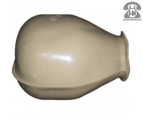 Мембрана для бака для систем водоснабжения 25 л резина белая