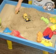 Песочница для психотерапии 43 см 70 см 9.2 см без песка сосна