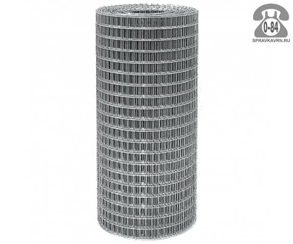 Строительная сетка диаметр 1.6мм  ячейка 25x50мм ширина 1.5м