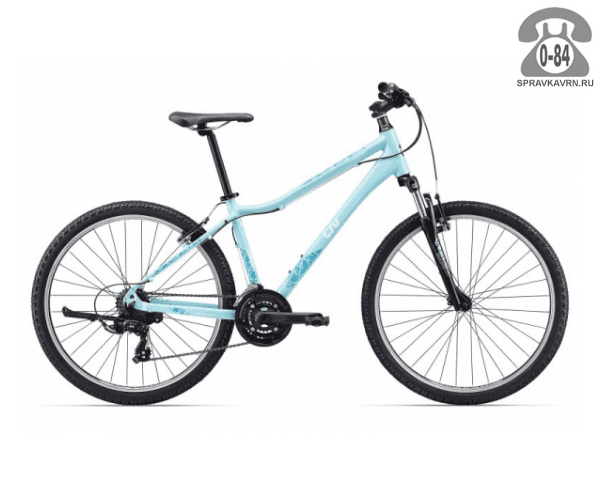 "Велосипед Джайнт (Giant) Enchant (2017), рама 14.5"", синий размер рамы 14.5"" синий"
